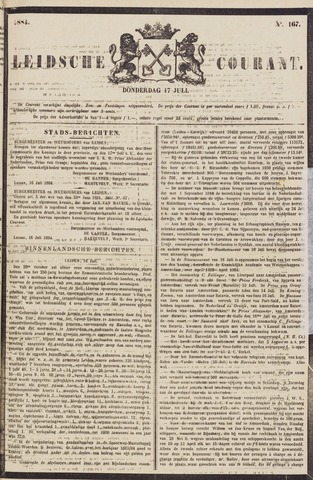 Leydse Courant 1884-07-17
