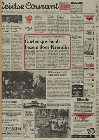 Leidse Courant 1988-10-01