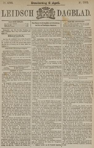 Leidsch Dagblad 1882-04-06