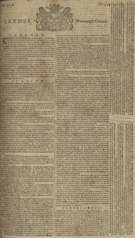 Leydse Courant 1758-10-25