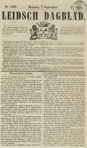 Leidsch Dagblad 1863-09-07