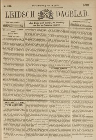 Leidsch Dagblad 1893-04-27