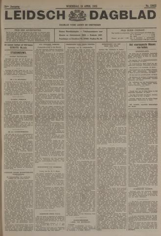 Leidsch Dagblad 1935-04-10
