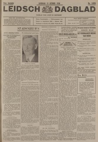 Leidsch Dagblad 1938-10-15
