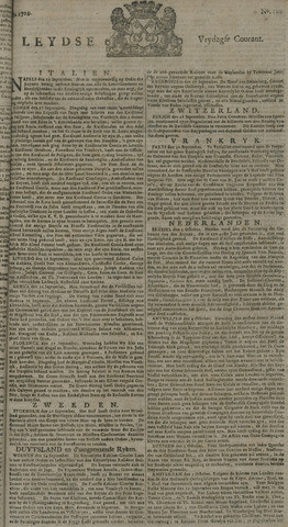 Leydse Courant 1729-10-07