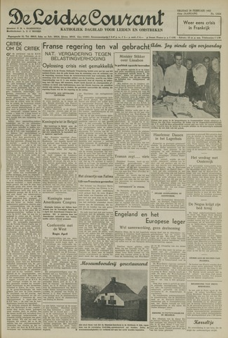 Leidse Courant 1952-02-29