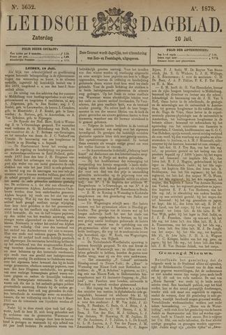 Leidsch Dagblad 1878-07-20