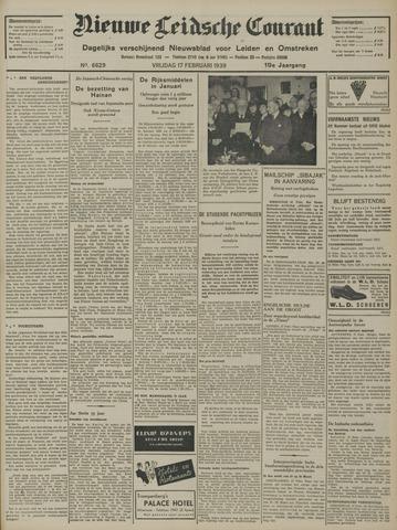 Nieuwe Leidsche Courant 1939-02-17