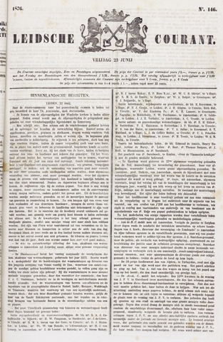 Leydse Courant 1876-06-23