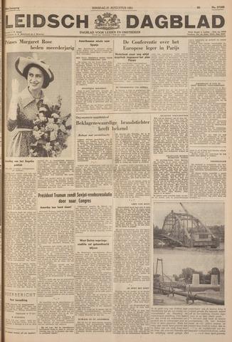 Leidsch Dagblad 1951-08-21