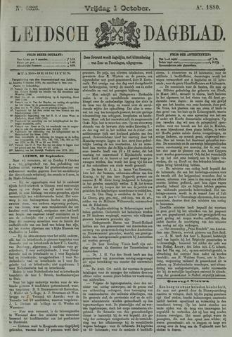 Leidsch Dagblad 1880-10-01