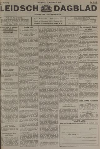 Leidsch Dagblad 1935-08-21