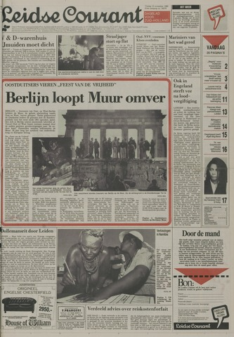 Leidse Courant 1989-11-10