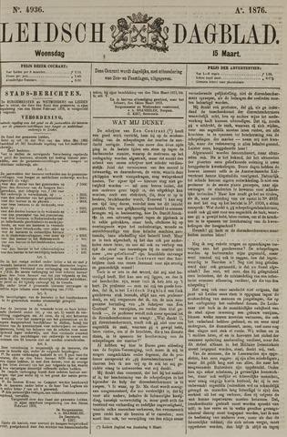 Leidsch Dagblad 1876-03-15