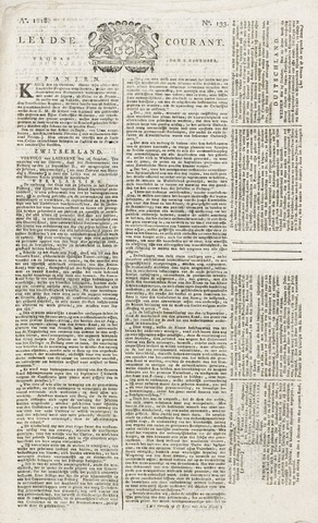 Leydse Courant 1818-11-06