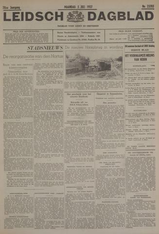 Leidsch Dagblad 1937-07-05