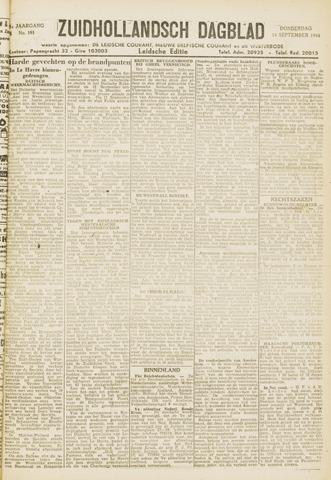 Zuidhollandsch Dagblad 1944-09-14