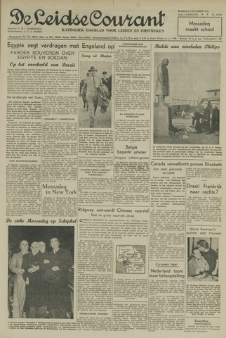 Leidse Courant 1951-10-09