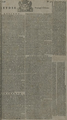 Leydse Courant 1748-03-22