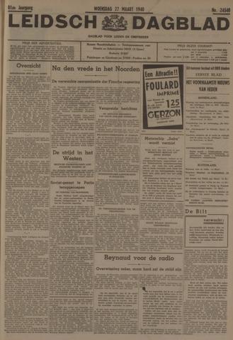 Leidsch Dagblad 1940-03-27
