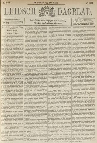 Leidsch Dagblad 1892-05-18