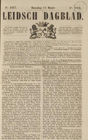 Leidsch Dagblad 1864-03-14