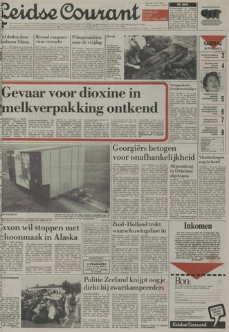 Leidse Courant 1989-07-25
