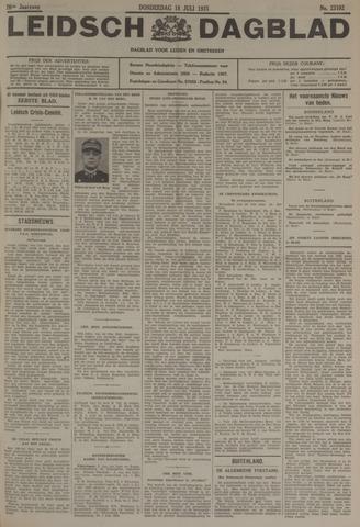 Leidsch Dagblad 1935-07-18
