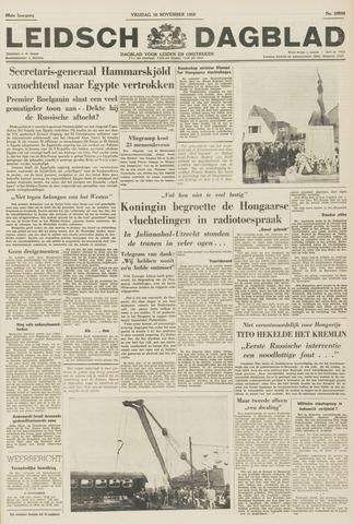 Leidsch Dagblad 1956-11-16