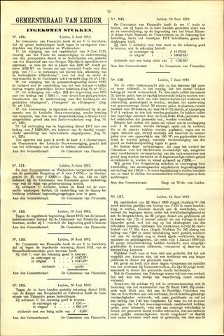 Handelingen van de Raad 1912-06-05