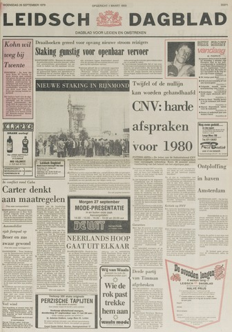 Leidsch Dagblad 1979-09-26