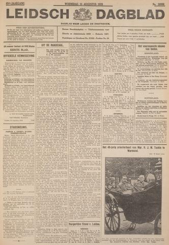 Leidsch Dagblad 1928-08-15