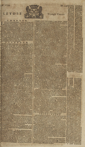Leydse Courant 1754-09-27