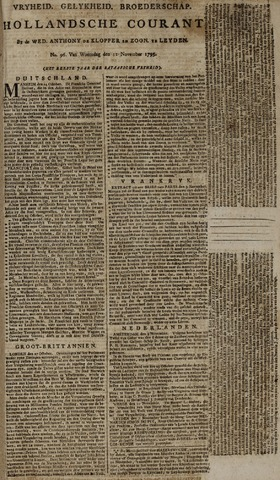 Leydse Courant 1795-11-11