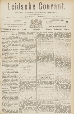 Leydse Courant 1889-03-09