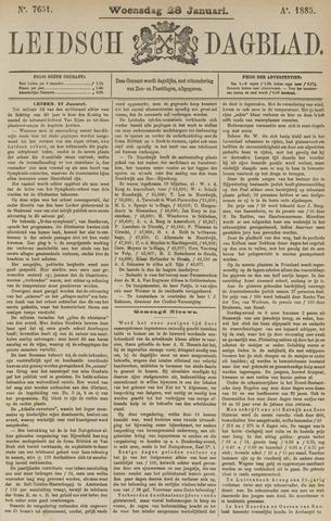 Leidsch Dagblad 1885-01-28