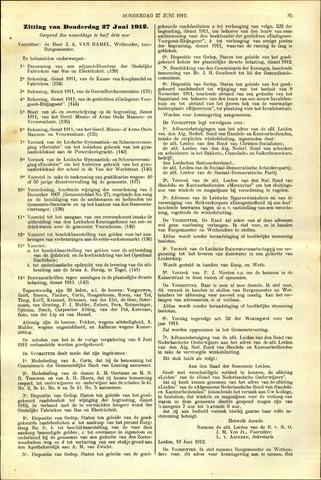 Handelingen van de Raad 1912-06-27