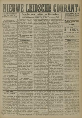 Nieuwe Leidsche Courant 1923-04-09
