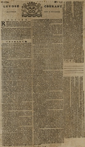 Leydse Courant 1794-12-29