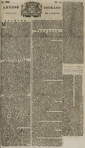 Leydse Courant 1805-08-23