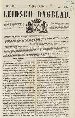 Leidsch Dagblad 1863-05-15