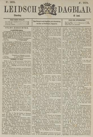Leidsch Dagblad 1878-06-18