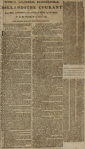 Leydse Courant 1795-10-21