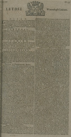 Leydse Courant 1722-11-11