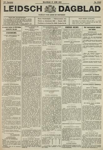 Leidsch Dagblad 1932-06-27