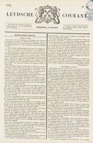 Leydse Courant 1852-03-24