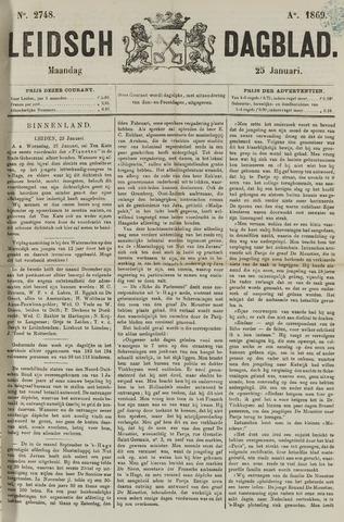 Leidsch Dagblad 1869-01-25