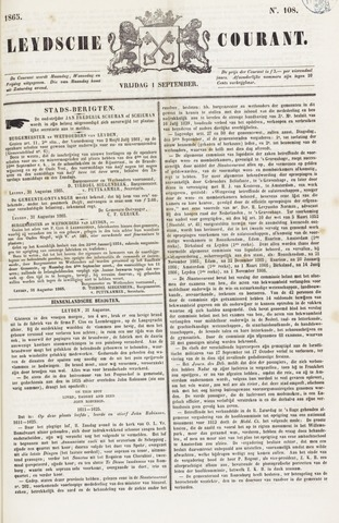 Leydse Courant 1865-09-01