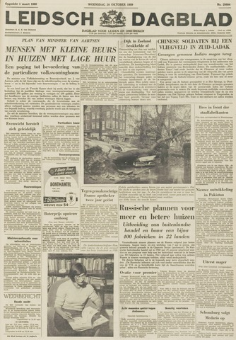 Leidsch Dagblad 1959-10-28