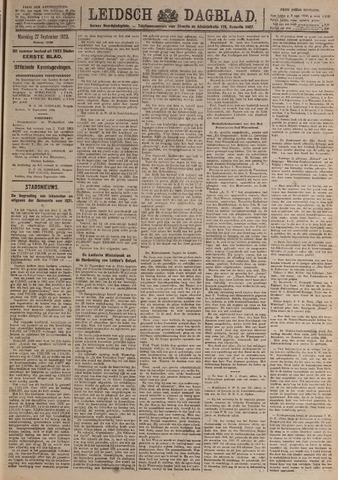 Leidsch Dagblad 1920-09-27